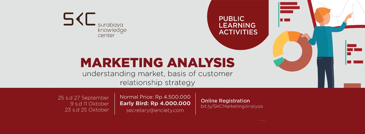 Marketing Analysis Training Surabaya Knowledge Center